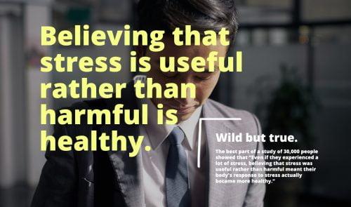 Stress er sundt